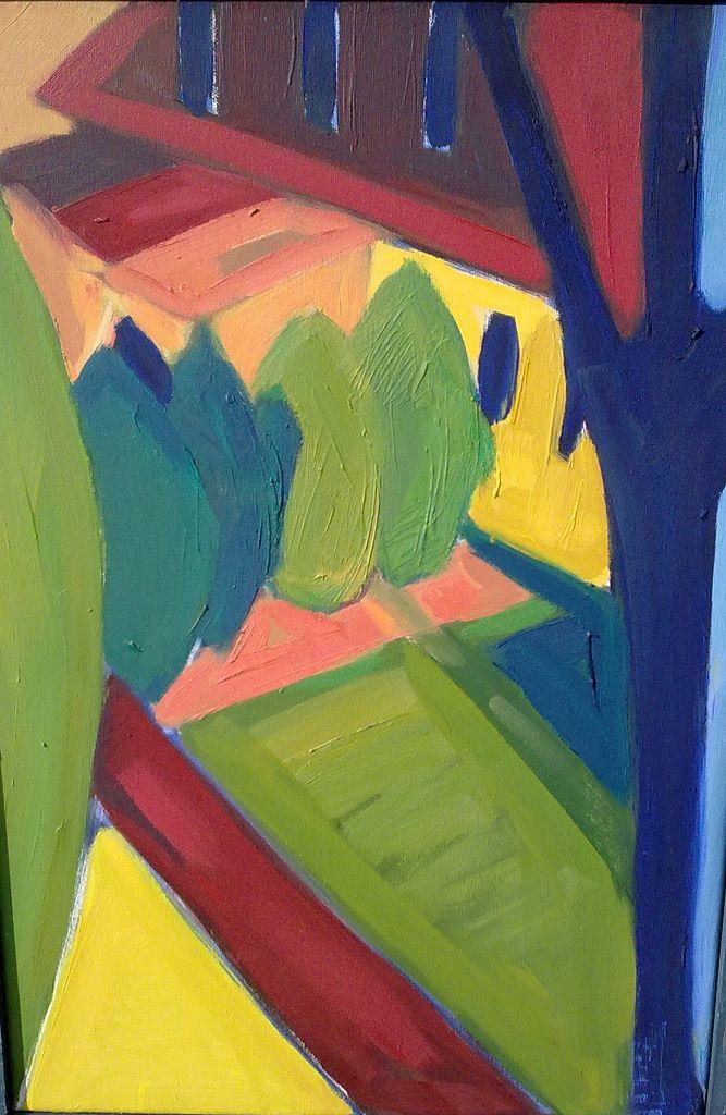 Der blaue Baum (O)