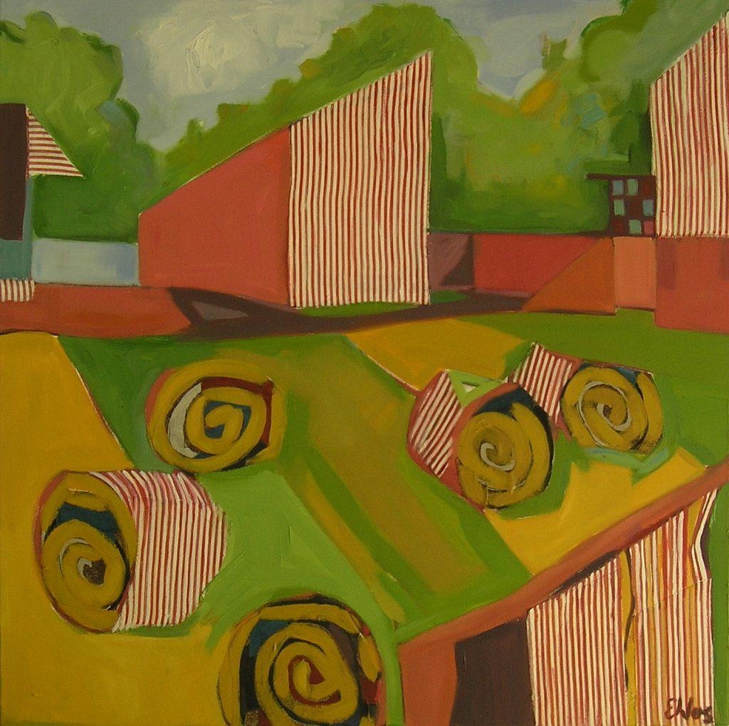 Haystacks I