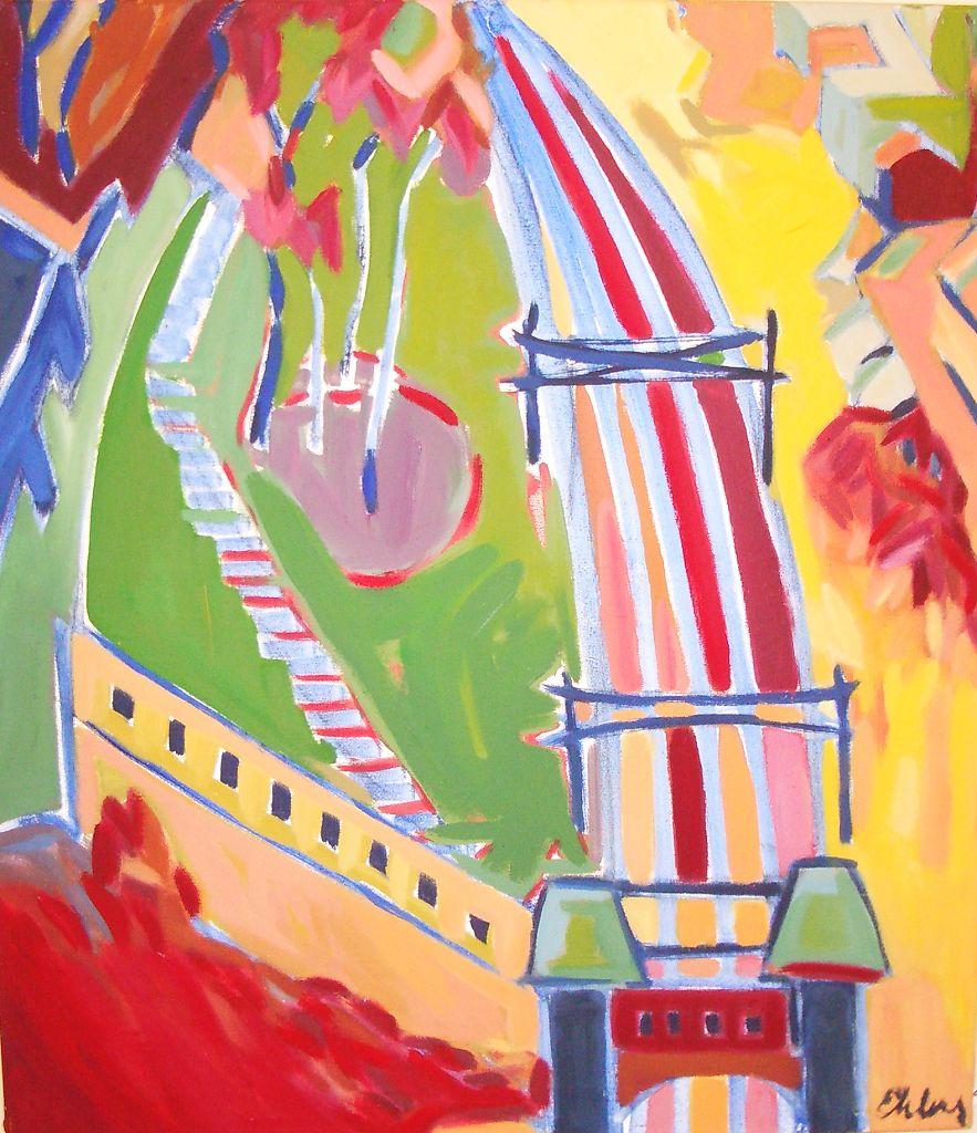 Red Bridge View (Lux)